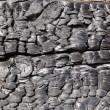 Charcoal texture — Stock Photo