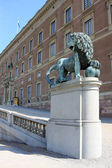 Residence of the Swedish kings — Stock Photo