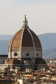 Dome of Florence Cathedral, Italy — Stock Photo