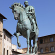 Stock Photo: Monument to Cosimo de 'Medici