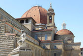 Basilica of San Lorenzo, Florence (Basilica di San Lorenzo) — Stock Photo