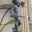 Perseus with the head of Medusa  by Benvenuto Cellini — Stock Photo