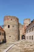 Bauska castle in Latvia — Stock Photo