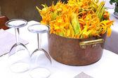 The ingredients of Italian cuisine — Stock Photo