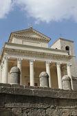 Vista de la Basílica di san marino — Foto de Stock