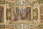 Frescos in the Vatican Museum — Stock Photo