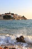 The beach on the Adriatic Sea. Croatia — Stock Photo