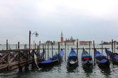 Venedig en regnig dag — Stockfoto