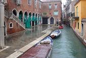 Venice on a rainy day — Stock Photo