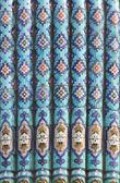 Majolica of Saint Petersburg Mosque in Russia — Stock Photo