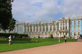 Catherine Palace in Tsarskoye Selo, Russia — Stock Photo