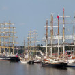 RIGA, LATVI- JULY 26: RegattTall Ships Races 2013 — Stock Photo #28887299