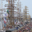RIGA, LATVI- JULY 26: RegattTall Ships Races 2013 — Stock Photo #28903969