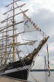 RIGA, LATVIA - JULY 26: Regatta The Tall Ships Races 2013 — Stock Photo
