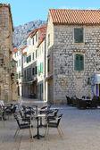Calle de la ciudad croata — Foto de Stock