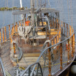 Moored sailboat — Stock Photo #29691277