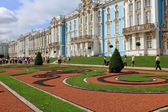 Tsarskoye Selo, RUSSIA - CIRCA JULY 2010: Catherine Palace during the celebration of the 300th anniversary of Tsarskoye Selo — Stock Photo