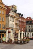 Historisches zentrum von warschau, polen — Stockfoto