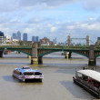 London, river Thames — Stock Photo