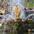 Fountains of Peterhof, Russia — Stock Photo #36035787