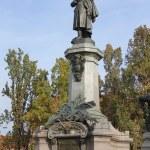 Постер, плакат: Adam Mickiewicz Monument in Warsaw Poland