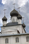 The St. Nicholas Church in the Solovetsky Monastery. — Stock Photo