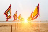 Vietnamees traditionele vlag — Stockfoto