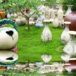Ceramic products of Chu Dau ceramic — Stock Photo #27283785