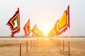 вьетнамский традиционных флаг — Стоковое фото