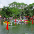 Foto Stock: Race traditional boat