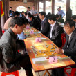 Players play Chinese chess in traditional festival — Stock Photo #31393711