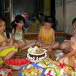 Stock Photo: Birthday party of boy