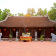 Stockfoto: Temple in traditional architectural style of east, Hai D