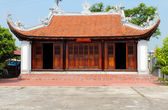 Temple in the traditional architectural style of the east, Hai D — Stock Photo