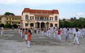 Praticanti di arti marziali — Foto Stock