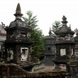 Stock Photo: Stupin oriental pagoda