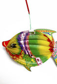 Fish lamp, a toy of Asia child — Stock Photo