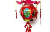 Lantern, a toy of Asia child — Stock Photo