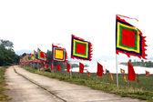 Geleneksel bayrağı — Stok fotoğraf