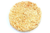 Pork fried rice, specialty of Vietnam — Stock Photo
