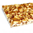 Peanut brittle isolated on white background — Stock Photo #35891637