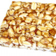 Peanut brittle isolated on white background — Stock Photo #35891639