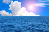 The sky and the sea — Stock Photo