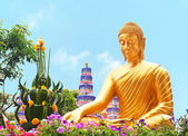 Thai Buddha Golden Statue — Stock Photo