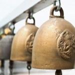 Thailand, Bangkok, Temple, religious bells — Stock Photo #32932637