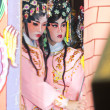 Unidentified actors of the Chinese Opera — Stock Photo