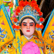 Unidentified actor of the Chinese Opera — Stock Photo