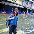 Worst flooding in Thailand — Stock Photo #32938271
