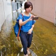 Worst flooding in Bangkok's Chinatown — Stock Photo #32938681