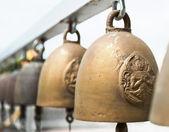 Thajsko, bangkok, chrám, náboženské zvonky — Stock fotografie